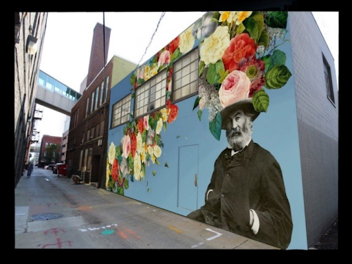 walt whitman street art